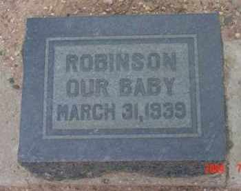 ROBINSON, ANTHONY ISAAC - Yavapai County, Arizona | ANTHONY ISAAC ROBINSON - Arizona Gravestone Photos