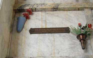 ROBINSON, BERTHA A. - Yavapai County, Arizona | BERTHA A. ROBINSON - Arizona Gravestone Photos