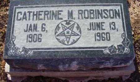 ROBINSON, CATHERINE MARIAN - Yavapai County, Arizona | CATHERINE MARIAN ROBINSON - Arizona Gravestone Photos