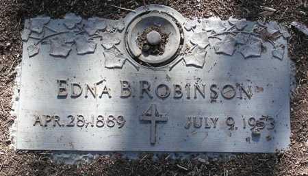 ROBINSON, EDNA B. - Yavapai County, Arizona | EDNA B. ROBINSON - Arizona Gravestone Photos