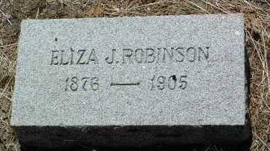 ROBBINS ROBINSON, ELIZA - Yavapai County, Arizona | ELIZA ROBBINS ROBINSON - Arizona Gravestone Photos