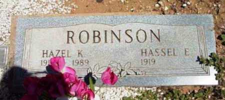 ROBINSON, HAZEL K. - Yavapai County, Arizona | HAZEL K. ROBINSON - Arizona Gravestone Photos