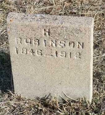 ROBINSON, HARRY - Yavapai County, Arizona | HARRY ROBINSON - Arizona Gravestone Photos