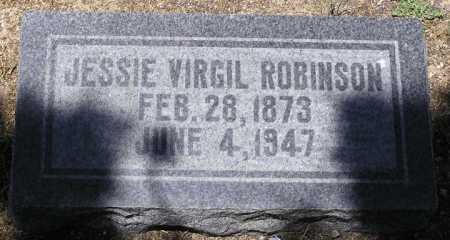 ROBINSON, JESSIE VIRGIL - Yavapai County, Arizona | JESSIE VIRGIL ROBINSON - Arizona Gravestone Photos