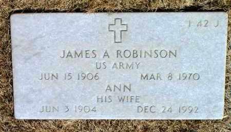 ROBINSON, JAMES A. - Yavapai County, Arizona   JAMES A. ROBINSON - Arizona Gravestone Photos
