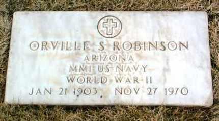 ROBINSON, ORVILLE SAMUEL - Yavapai County, Arizona | ORVILLE SAMUEL ROBINSON - Arizona Gravestone Photos