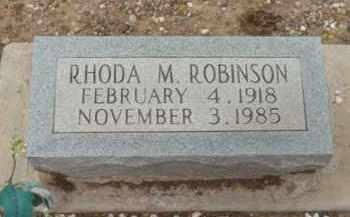 ROBINSON, RHODA MELVINA - Yavapai County, Arizona | RHODA MELVINA ROBINSON - Arizona Gravestone Photos