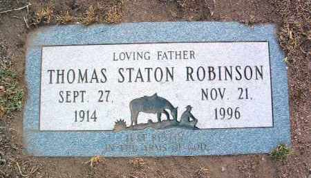 ROBINSON, THOMAS STATON - Yavapai County, Arizona   THOMAS STATON ROBINSON - Arizona Gravestone Photos