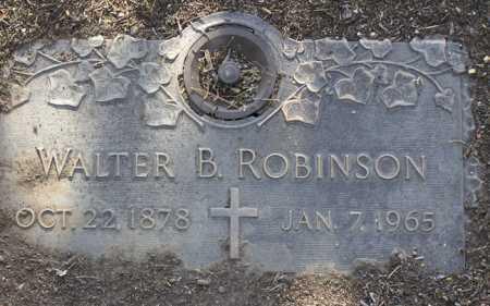 ROBINSON, WALTER BURNETT - Yavapai County, Arizona | WALTER BURNETT ROBINSON - Arizona Gravestone Photos