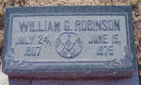 ROBINSON, WILLIAM GLENN - Yavapai County, Arizona | WILLIAM GLENN ROBINSON - Arizona Gravestone Photos