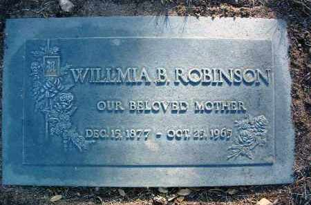ROBINSON, WILLMIA B. - Yavapai County, Arizona   WILLMIA B. ROBINSON - Arizona Gravestone Photos