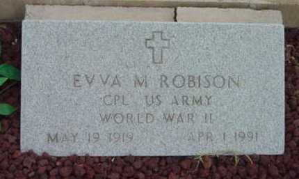 ROBISON, EVVA M. - Yavapai County, Arizona | EVVA M. ROBISON - Arizona Gravestone Photos