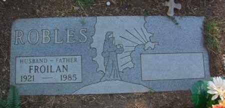 ROBLES, FROILAN - Yavapai County, Arizona   FROILAN ROBLES - Arizona Gravestone Photos