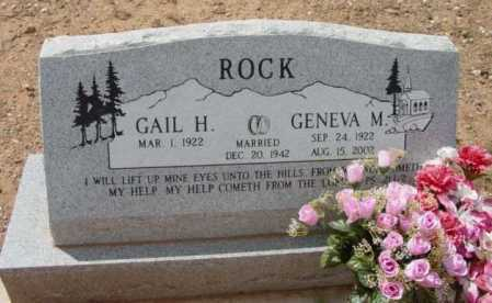 ROCK, GAIL HOWARD - Yavapai County, Arizona | GAIL HOWARD ROCK - Arizona Gravestone Photos
