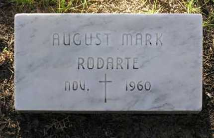 RODARTE, AUGUST MARK - Yavapai County, Arizona | AUGUST MARK RODARTE - Arizona Gravestone Photos