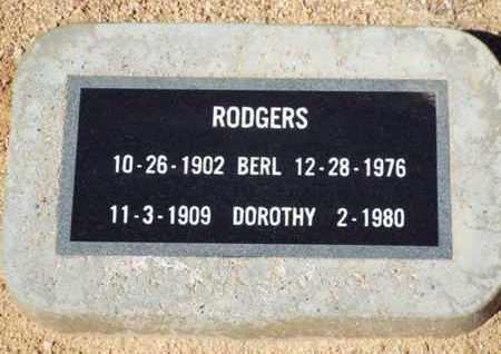 CHAWKLEY RODGERS, D. - Yavapai County, Arizona | D. CHAWKLEY RODGERS - Arizona Gravestone Photos