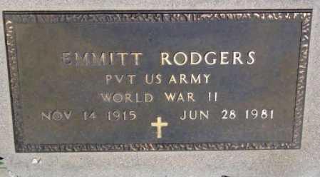 RODGERS, EMMITT - Yavapai County, Arizona | EMMITT RODGERS - Arizona Gravestone Photos