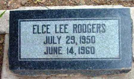 RODGERS, ELCE LEE - Yavapai County, Arizona | ELCE LEE RODGERS - Arizona Gravestone Photos
