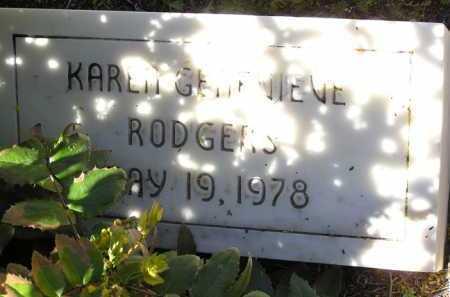 RODGERS, KAREN GENEVIEVE - Yavapai County, Arizona | KAREN GENEVIEVE RODGERS - Arizona Gravestone Photos