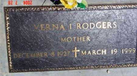 RODGERS, VERNA I. - Yavapai County, Arizona | VERNA I. RODGERS - Arizona Gravestone Photos