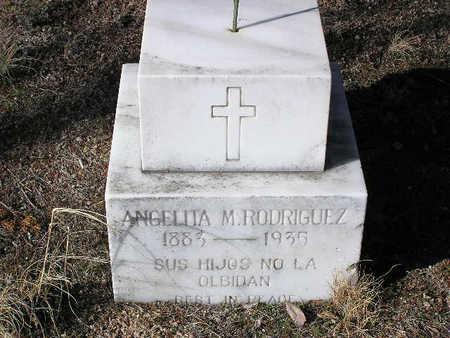 RODRIGUEZ, ANGELITA M. - Yavapai County, Arizona | ANGELITA M. RODRIGUEZ - Arizona Gravestone Photos