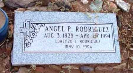 RODRIGUEZ, ANGEL P. - Yavapai County, Arizona   ANGEL P. RODRIGUEZ - Arizona Gravestone Photos