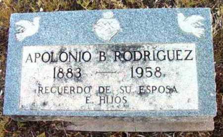 RODRIGUEZ, APOLONIO B. - Yavapai County, Arizona   APOLONIO B. RODRIGUEZ - Arizona Gravestone Photos