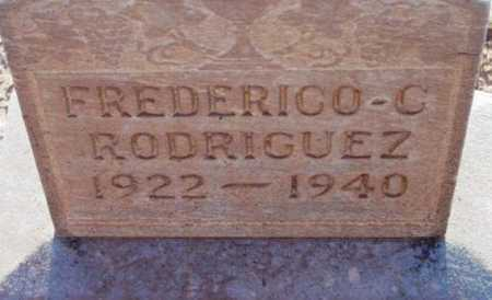 RODRIGUEZ, FREDERICO C. - Yavapai County, Arizona | FREDERICO C. RODRIGUEZ - Arizona Gravestone Photos