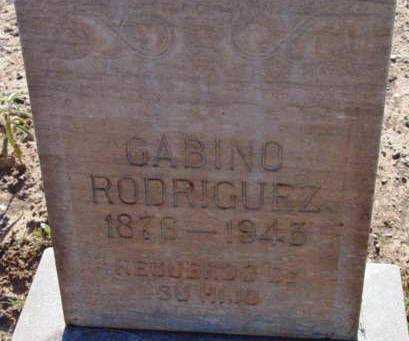 RODRIGUEZ, GABINO - Yavapai County, Arizona | GABINO RODRIGUEZ - Arizona Gravestone Photos