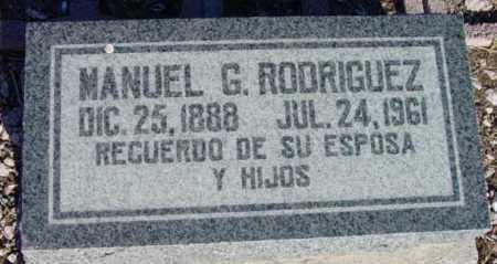 RODRIGUEZ, MANUEL G. - Yavapai County, Arizona | MANUEL G. RODRIGUEZ - Arizona Gravestone Photos