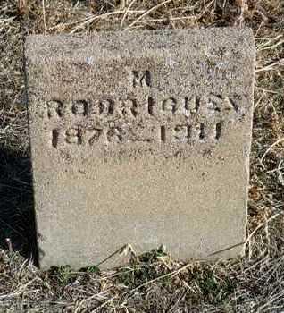 RODRIGUEZ, MARGUERITO - Yavapai County, Arizona | MARGUERITO RODRIGUEZ - Arizona Gravestone Photos