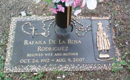 DELAROSA RODRIGUEZ, RAFAILA - Yavapai County, Arizona   RAFAILA DELAROSA RODRIGUEZ - Arizona Gravestone Photos