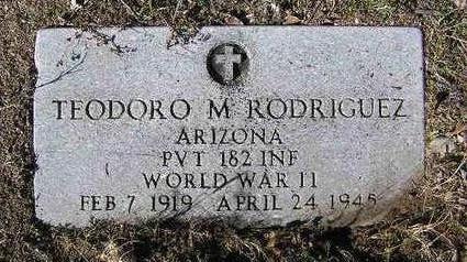 RODRIGUEZ, TEODORO - Yavapai County, Arizona | TEODORO RODRIGUEZ - Arizona Gravestone Photos