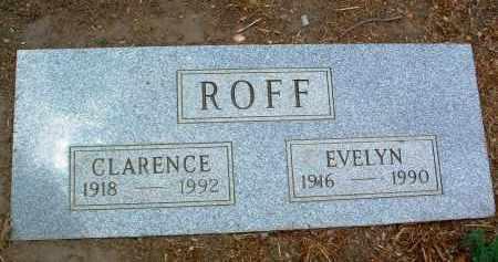 ROFF, EVELYN - Yavapai County, Arizona | EVELYN ROFF - Arizona Gravestone Photos