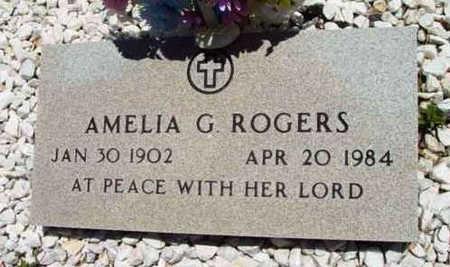 ROGERS, AMELIA G. - Yavapai County, Arizona | AMELIA G. ROGERS - Arizona Gravestone Photos