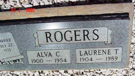 ROGERS, ALVA CARTER - Yavapai County, Arizona   ALVA CARTER ROGERS - Arizona Gravestone Photos