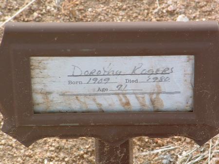 CHAWKLEY RODGERS, DOROTHY - Yavapai County, Arizona | DOROTHY CHAWKLEY RODGERS - Arizona Gravestone Photos