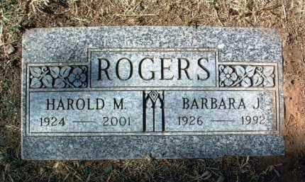 ROGERS, HAROLD M. - Yavapai County, Arizona | HAROLD M. ROGERS - Arizona Gravestone Photos