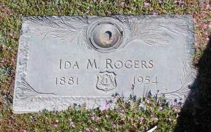 BLOUNT ROGERS, IDA MAY - Yavapai County, Arizona | IDA MAY BLOUNT ROGERS - Arizona Gravestone Photos