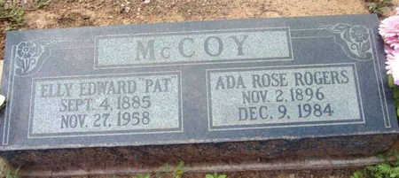 ROGERS MCCOY, ADA ROSE - Yavapai County, Arizona | ADA ROSE ROGERS MCCOY - Arizona Gravestone Photos