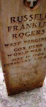ROGERS, RUSSELL FRANKLIN - Yavapai County, Arizona | RUSSELL FRANKLIN ROGERS - Arizona Gravestone Photos