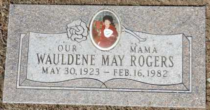 ROGERS, WAULDENE MAY - Yavapai County, Arizona | WAULDENE MAY ROGERS - Arizona Gravestone Photos