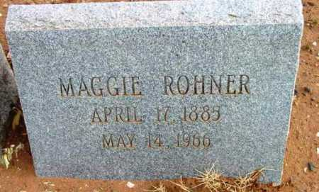 ROHNER, MAGGIE - Yavapai County, Arizona | MAGGIE ROHNER - Arizona Gravestone Photos