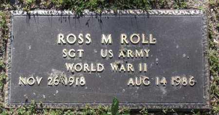 ROLL, ROSS M. - Yavapai County, Arizona | ROSS M. ROLL - Arizona Gravestone Photos