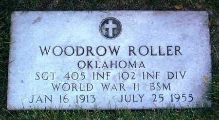ROLLER, WOODROW - Yavapai County, Arizona   WOODROW ROLLER - Arizona Gravestone Photos