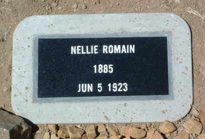 ROMAIN, NELLIE - Yavapai County, Arizona   NELLIE ROMAIN - Arizona Gravestone Photos