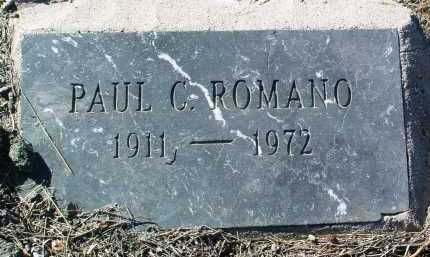 ROMANO, PAUL C. - Yavapai County, Arizona   PAUL C. ROMANO - Arizona Gravestone Photos