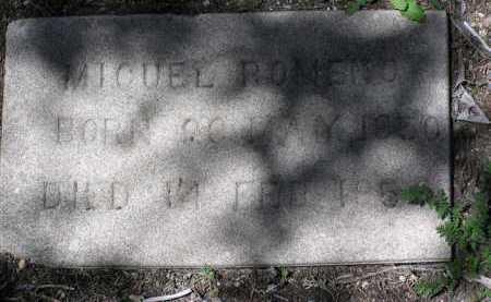 ROMENO, MIGUEL - Yavapai County, Arizona | MIGUEL ROMENO - Arizona Gravestone Photos