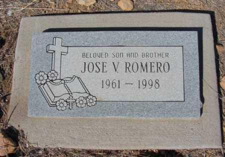 ROMERO, JOSE V. - Yavapai County, Arizona | JOSE V. ROMERO - Arizona Gravestone Photos