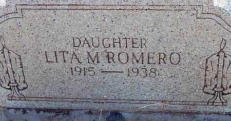 ROMERO, LITA M. (FELICITA) - Yavapai County, Arizona   LITA M. (FELICITA) ROMERO - Arizona Gravestone Photos
